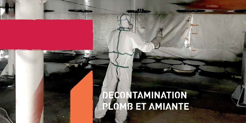 décontamination plomb amiante