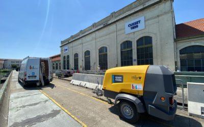 Nouveau compresseur de chantier pour CARRILLO Industrie