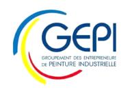 GEPI Groupement des Entrepreneurs de Peinture Industrielle