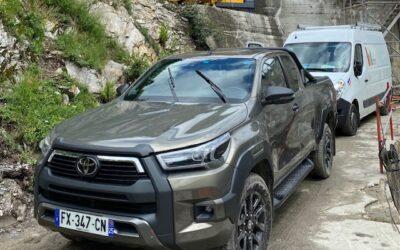 Nouveau 4X4 Toyota pour CARRILLO Industrie